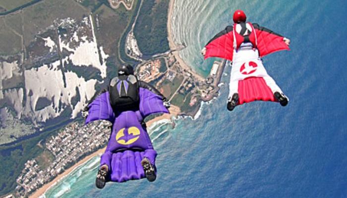 Exemplo de wingsuit