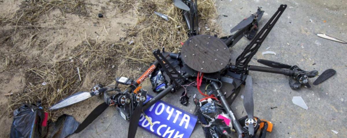 Rússia testa drone para correspondências, mas projeto fica aos pedaços