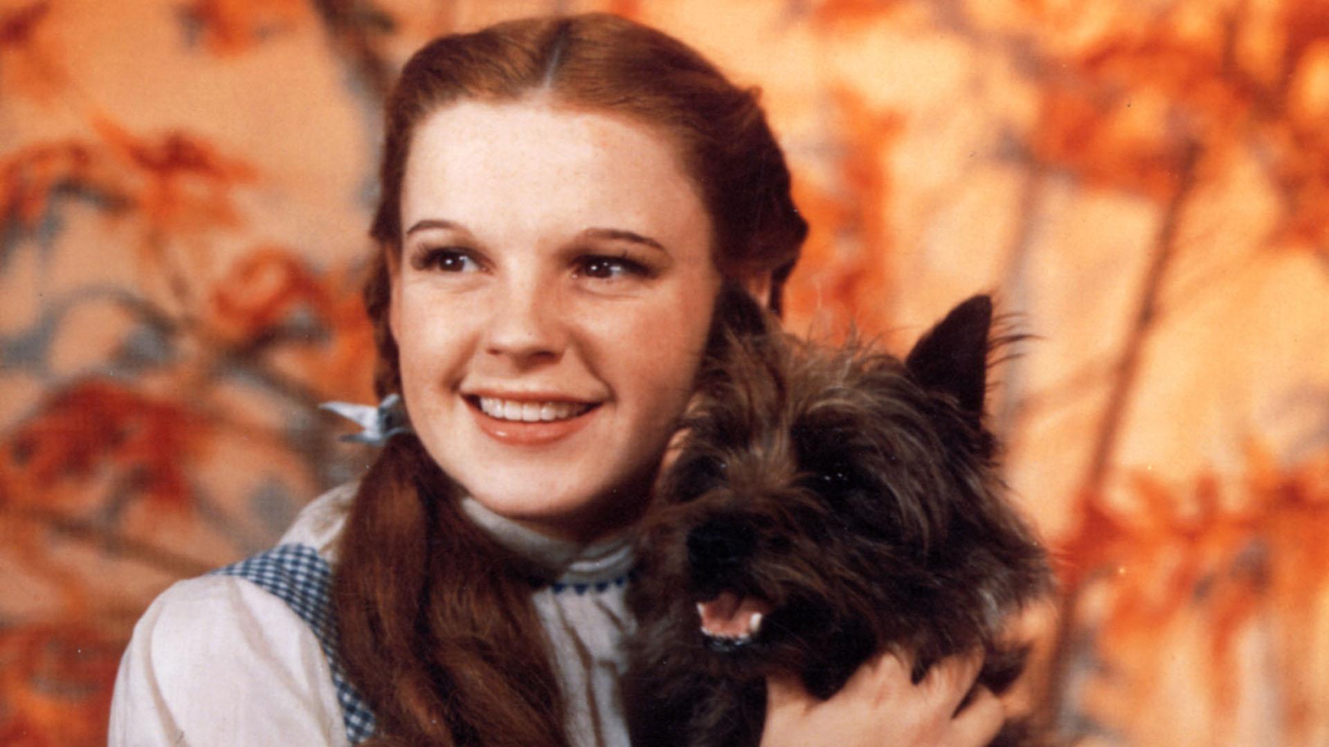 Judie Garland em Mágico de Oz