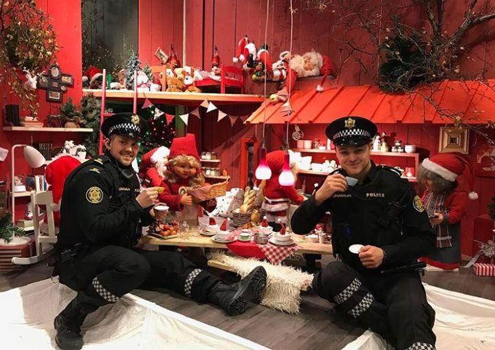 polícia da islândia