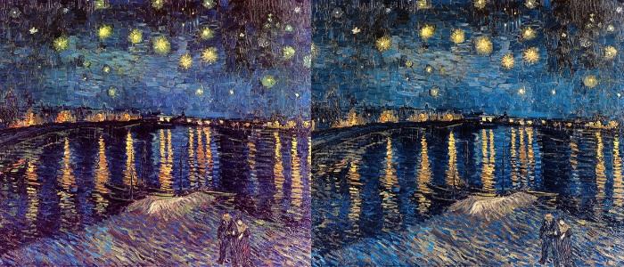 A esquerda a imagem original