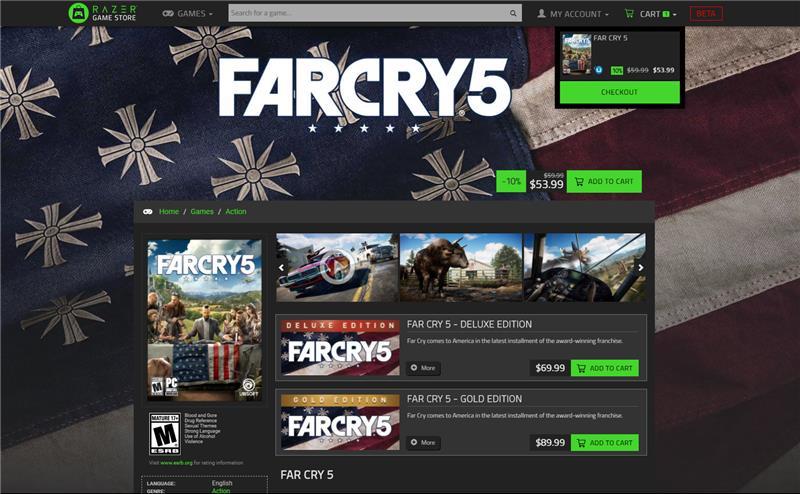 Razer lança plataforma para venda de jogos com plano de fidelidade e mais