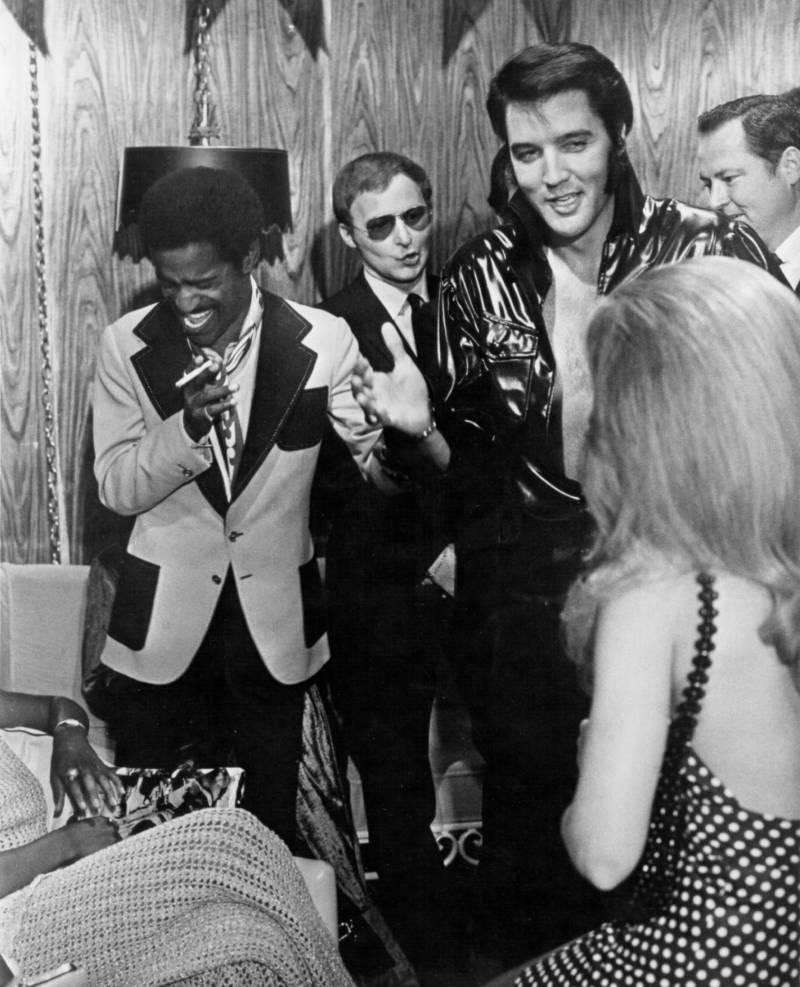 Elvis Presley e Sammy Davis Jr