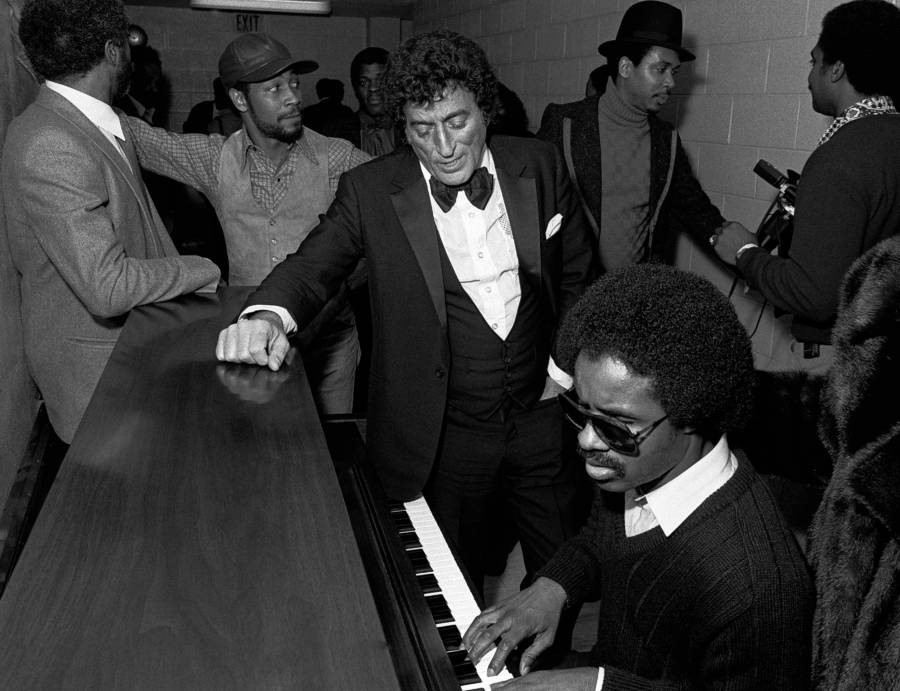 Tony Bennett e Stevie Wonder