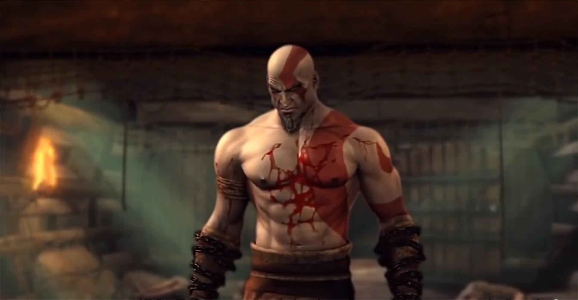 kratos sangue god of war