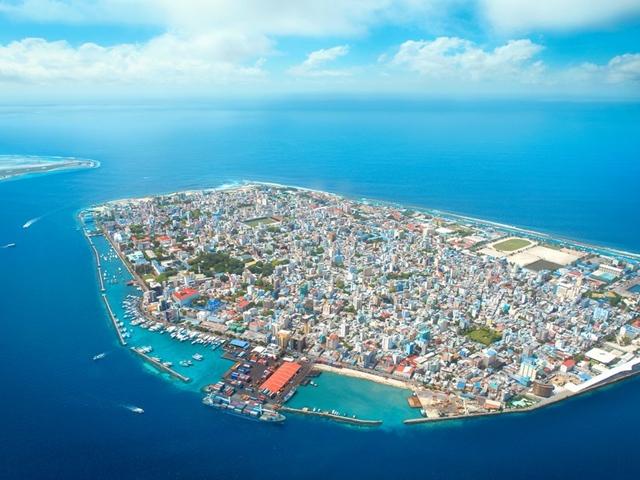 Malé, nas Maldivas