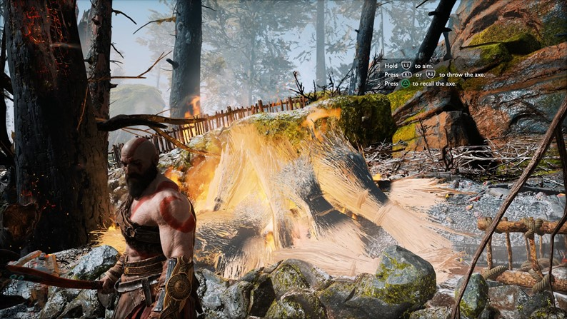 Confira God of War rodando no modo 4K e no modo performance no PS4 Pro