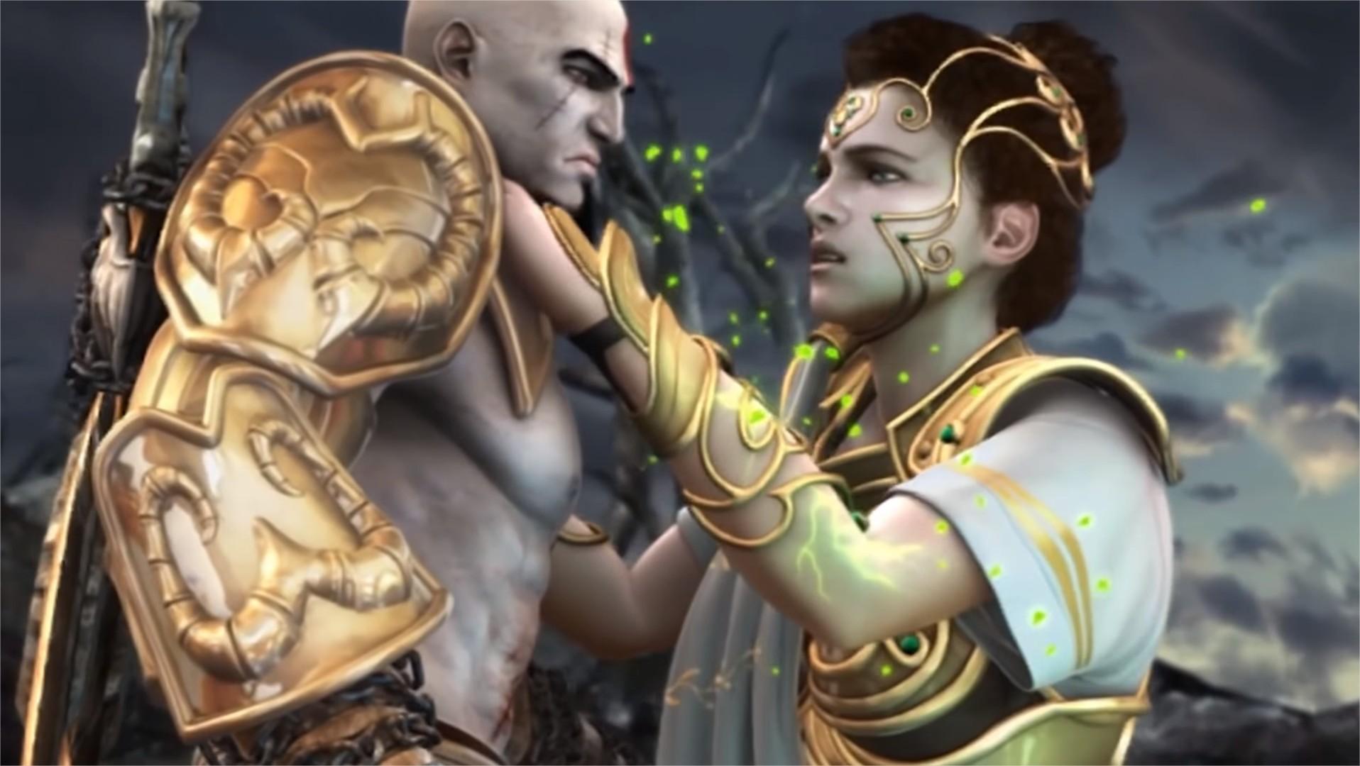 atena kratos revelation death