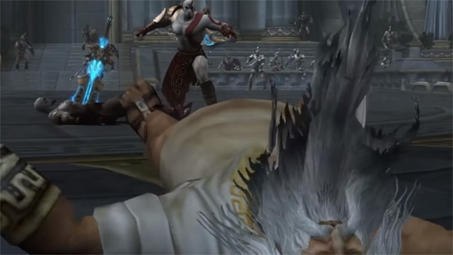 kratos zeus blade