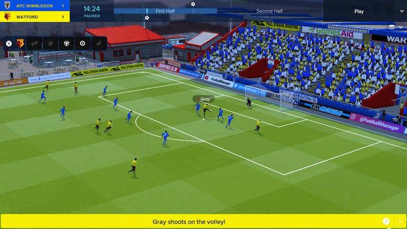 Começa a partida: Football Manager Touch 2018 chega ao Switch!