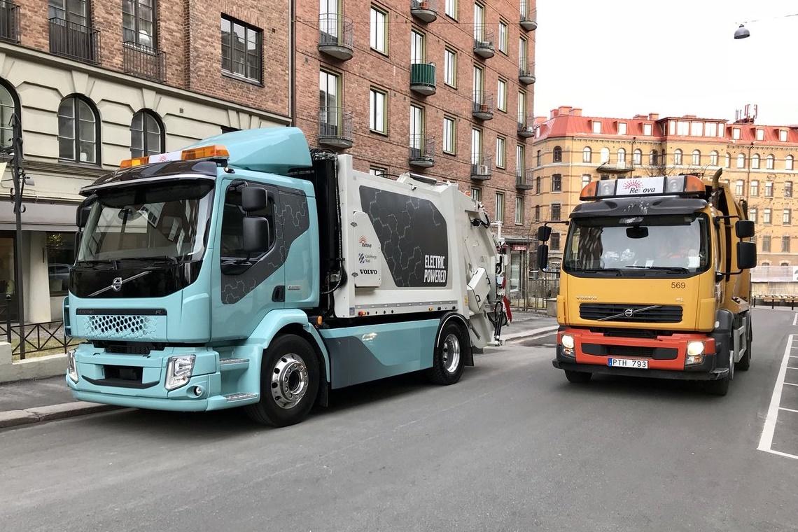 Volvo apresenta seu primeiro caminhão 100% elétrico, o FL Electric