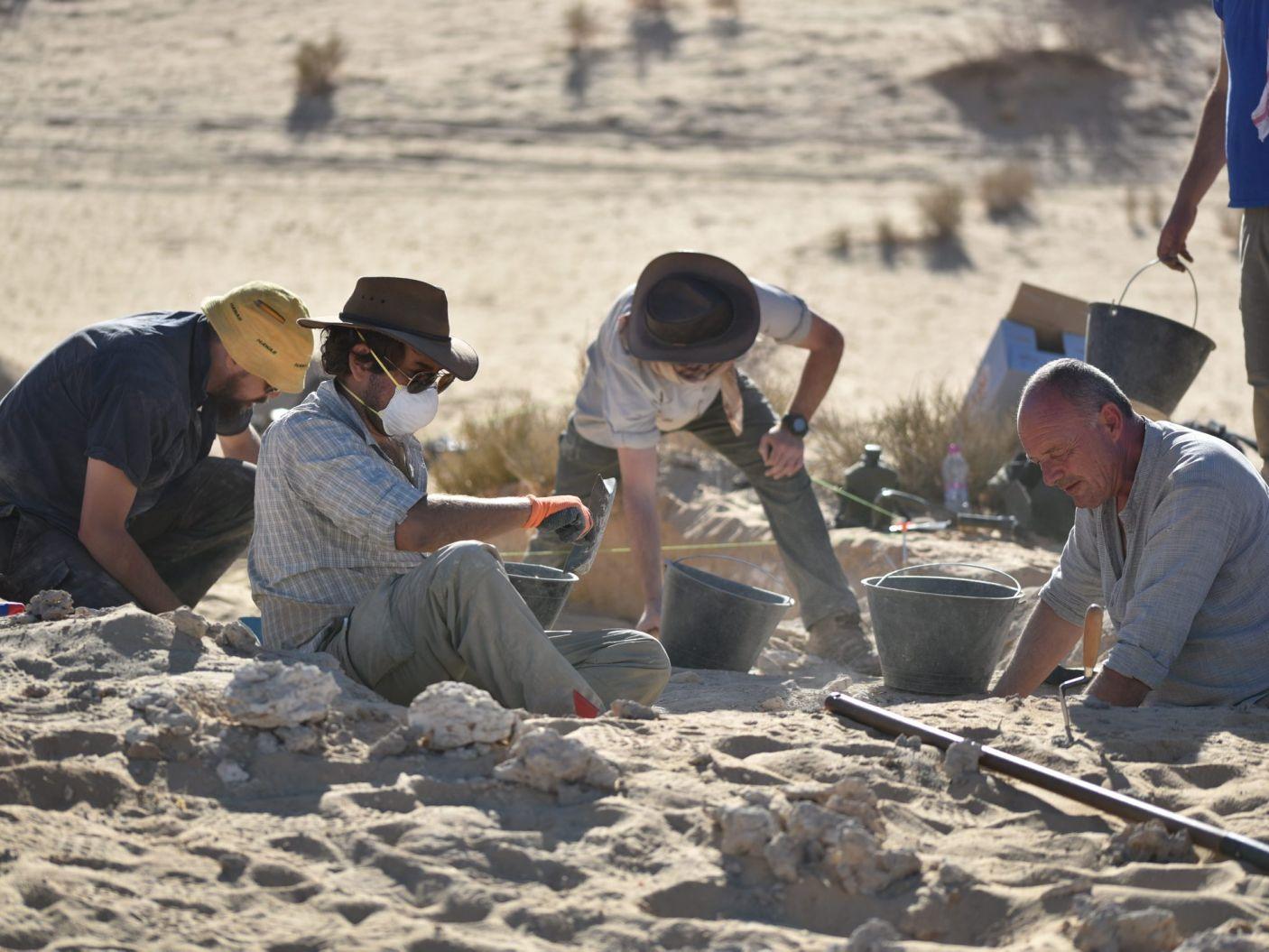 Cientistas no deserto