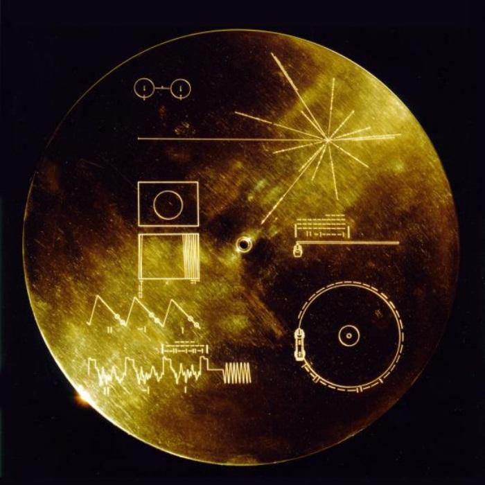 Disco dourado