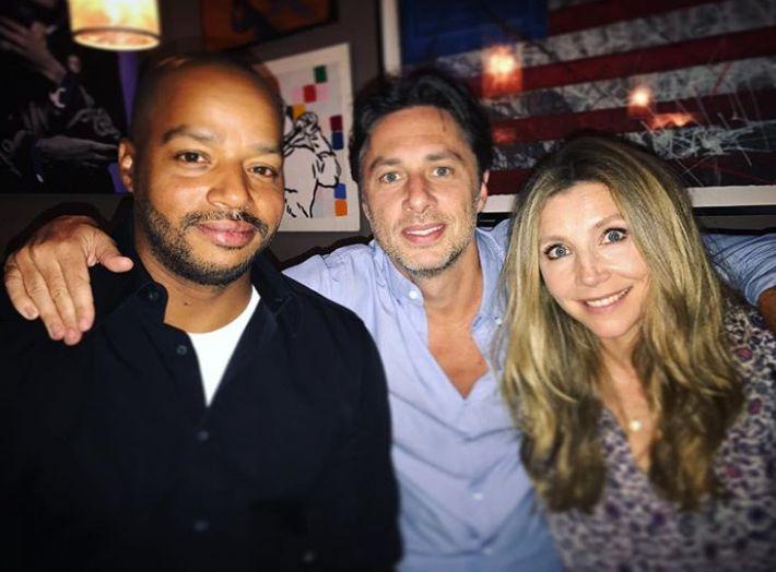 Zach, Sarah e Donald