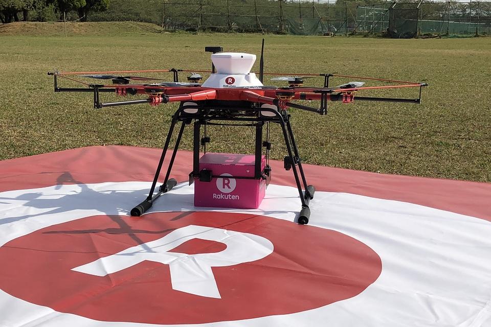 Dronelivery: conferimos o primeiro serviço de entregas em operação no Japão