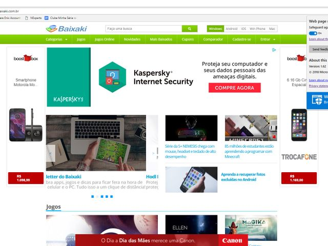 Windows Defender Browser Protection - Imagem 1 do software