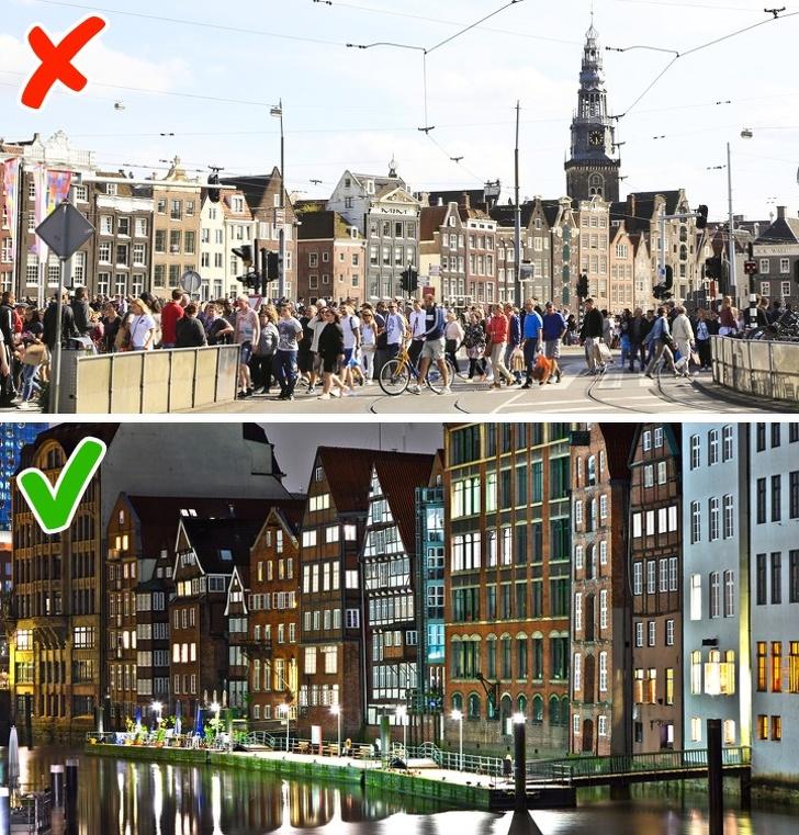 amsterdã e hamburgo