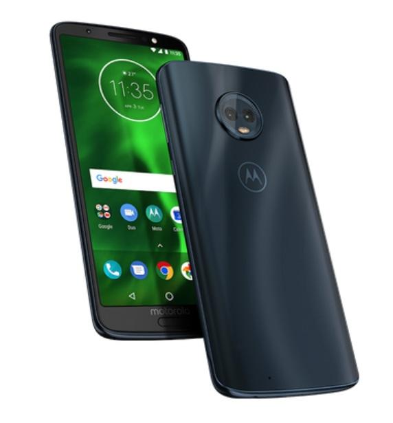 c7f31f282 Motorola revela oficialmente a família Moto G6