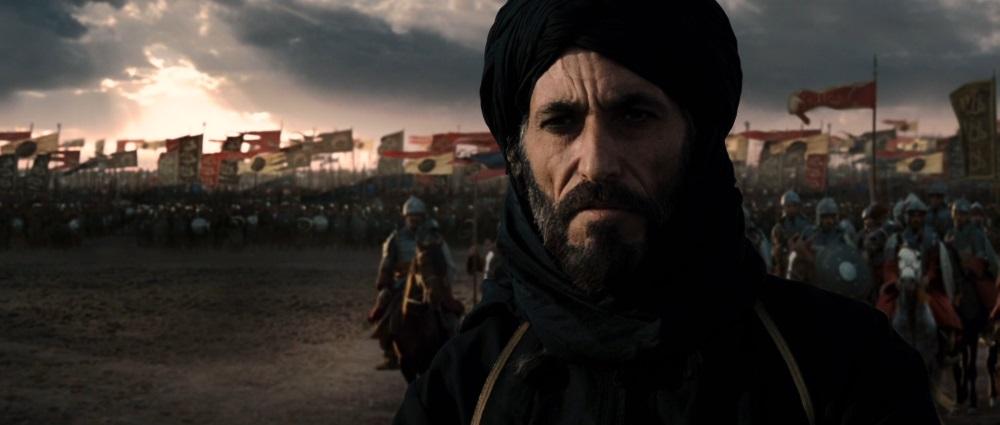Ator interpretando Saladino