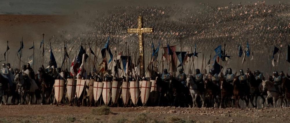 Cena do filme Cruzada