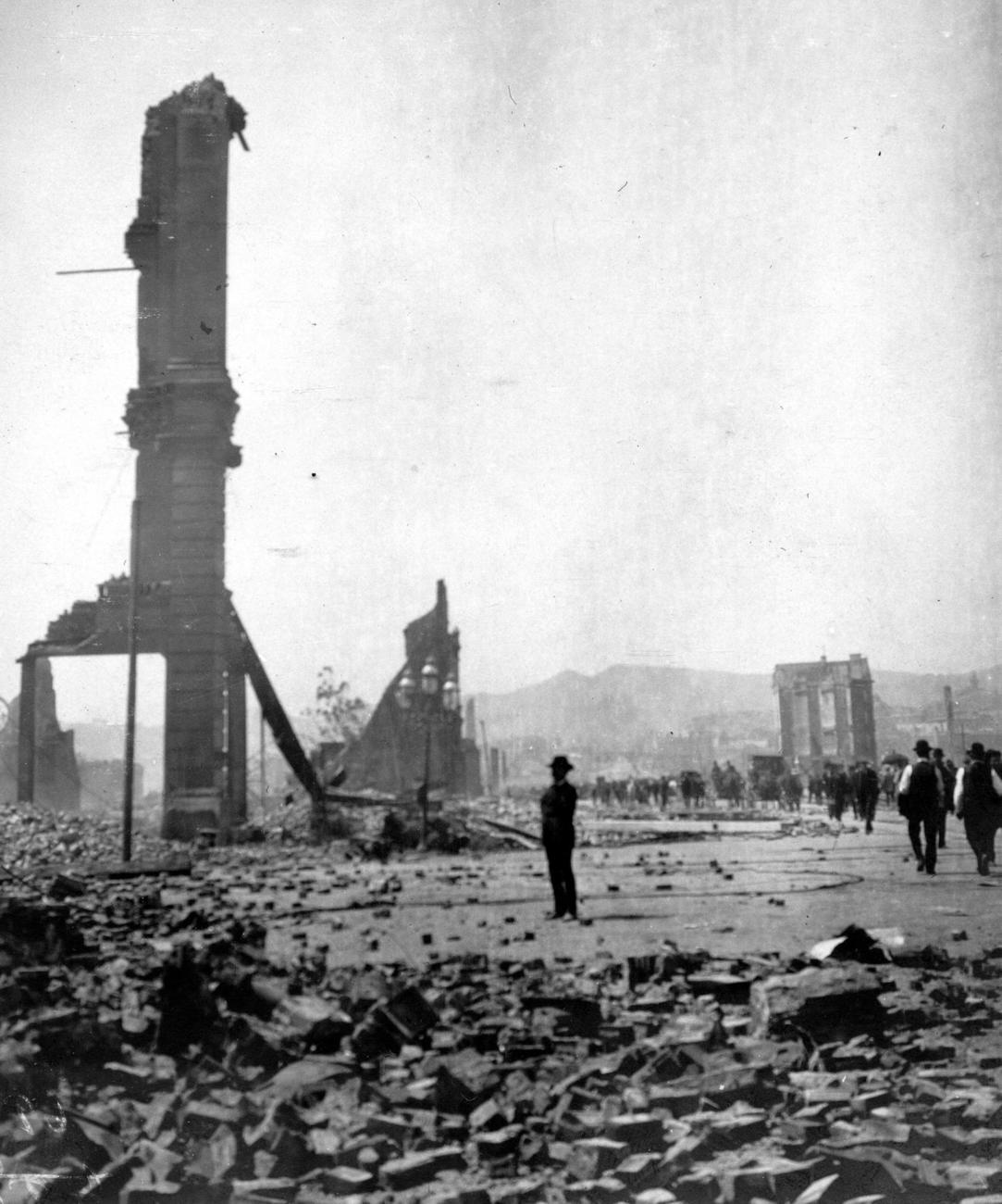 Destruição em San Francisco