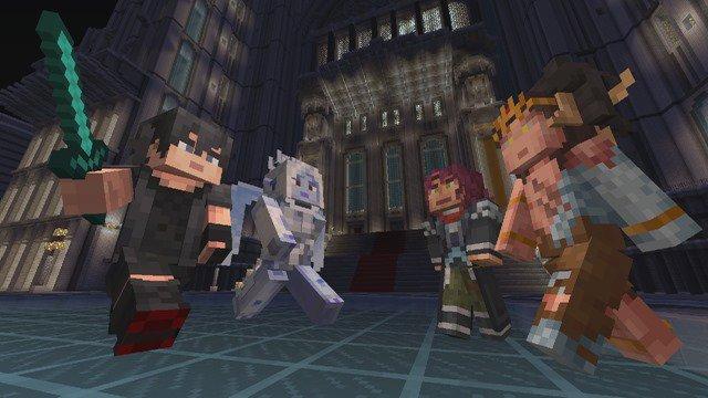 Minecraft FF XV