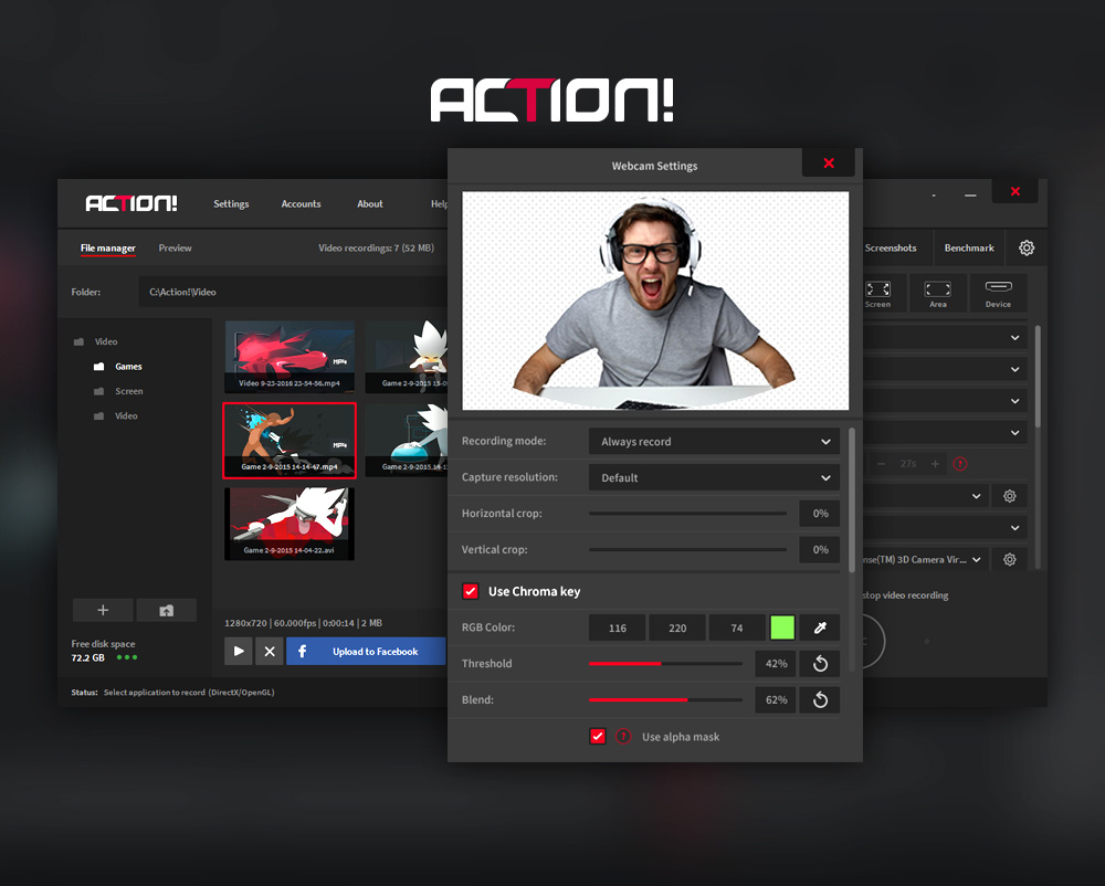 Mirillis Action! - Imagem 2 do software
