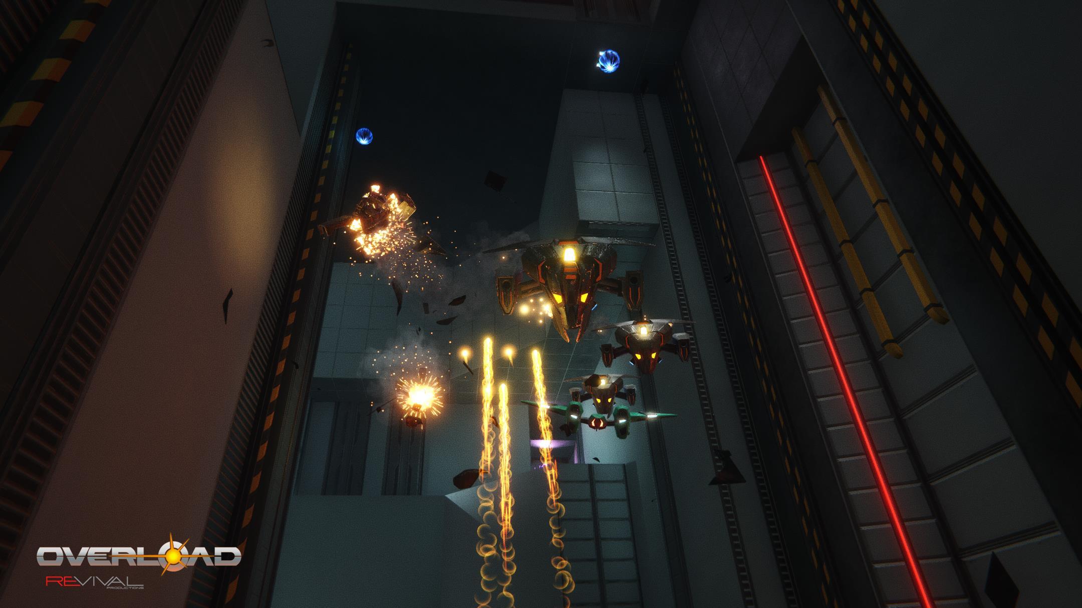 'Sucessor espiritual de Descent', Overload chega mês que vem ao PC