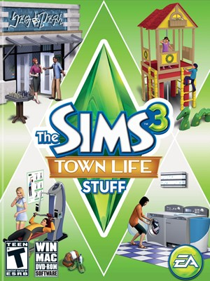 The Sims 3: Town Life Stuff