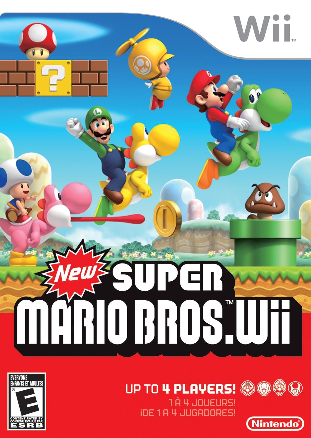 New Super Mario Bros. para Wii vendeu 10 milhões de cópias desde 2009 -  Voxel 400b9e3cd2