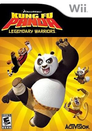 Kung Fu Panda Legendary Warriors