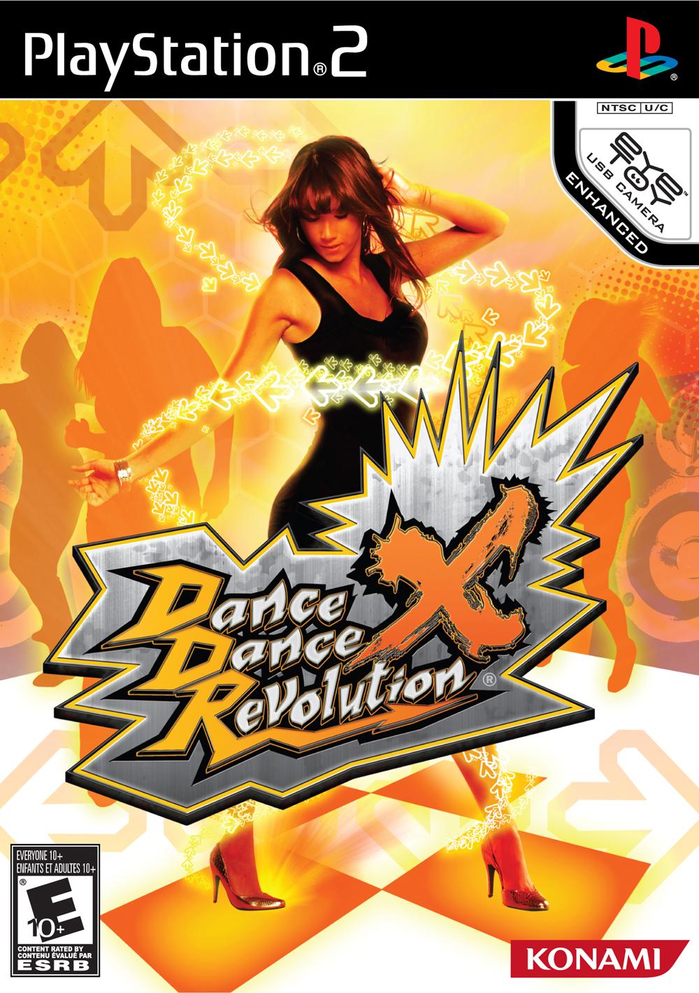 Dance Dance Revolution X