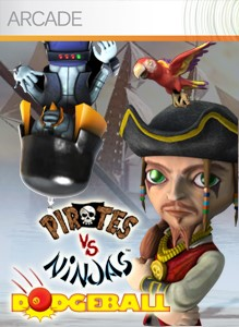 Pirates vs. Ninjas Dodgeball