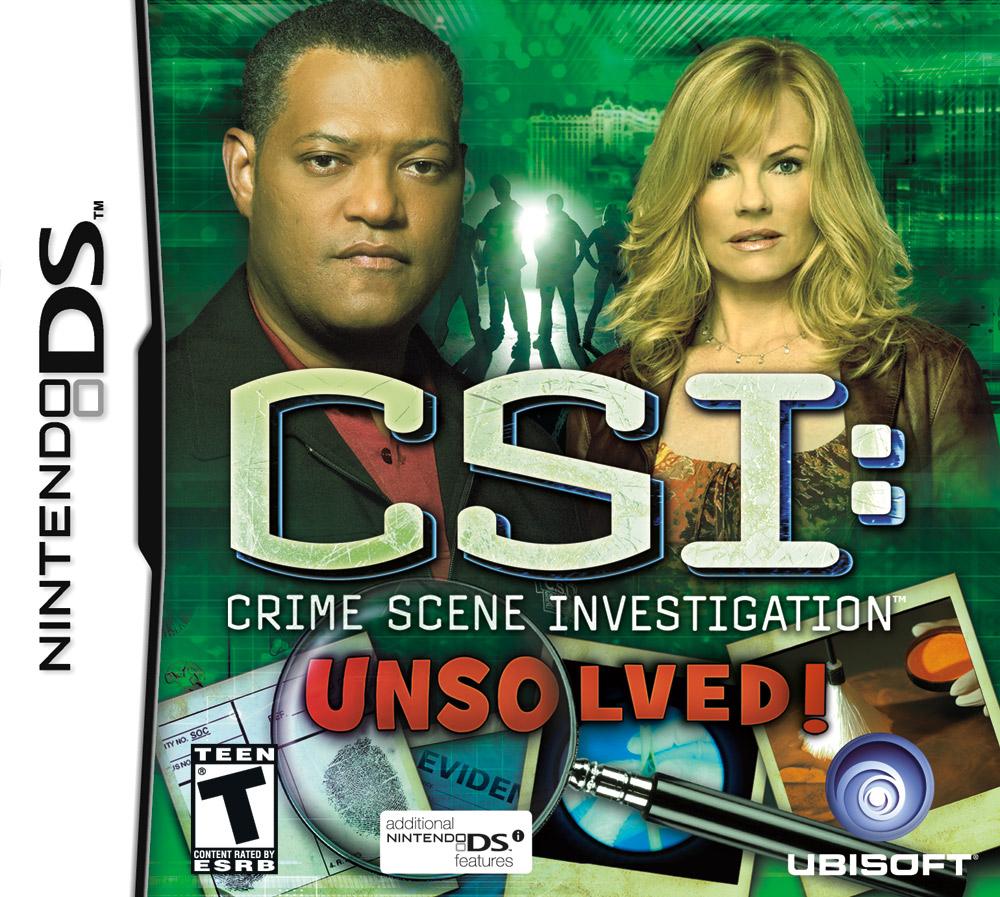 CSI: Crime Scene Investigation - Unsolved!