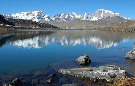 Lago no Butão