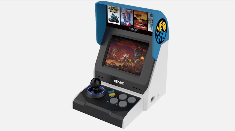 Vazou: SNK Neo Geo Mini é em formato arcade e terá 40 games, diz rumor