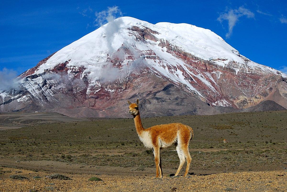 Chimborazo no Equacor