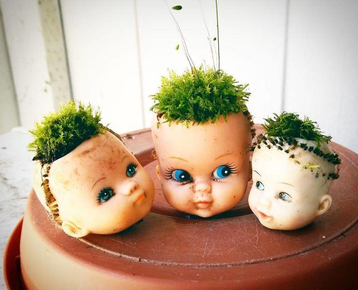 Trio de bonecas