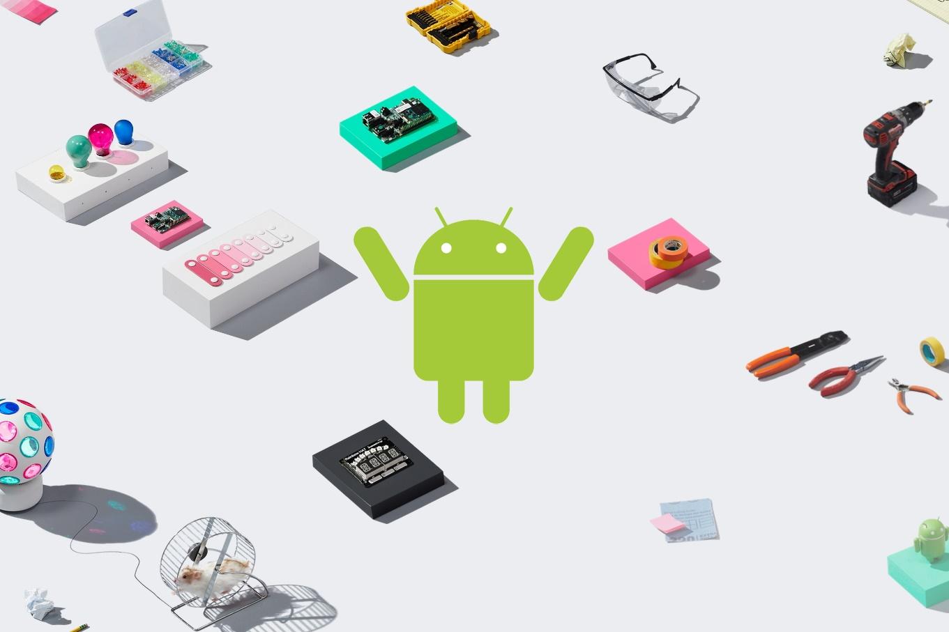Google lança oficialmente o Android Things 1.0 um dia antes da I/O 2018