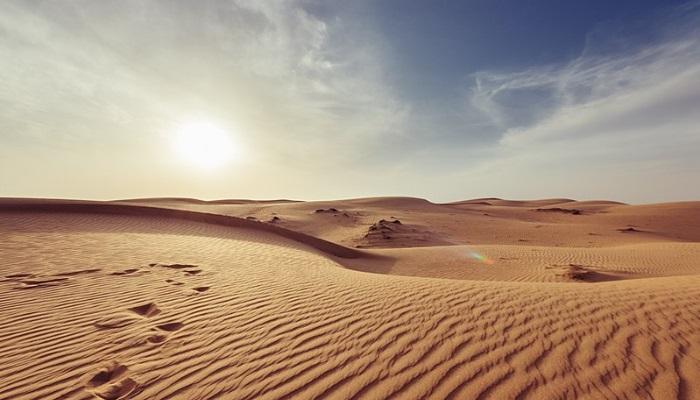 Deserto próximo a Mascate