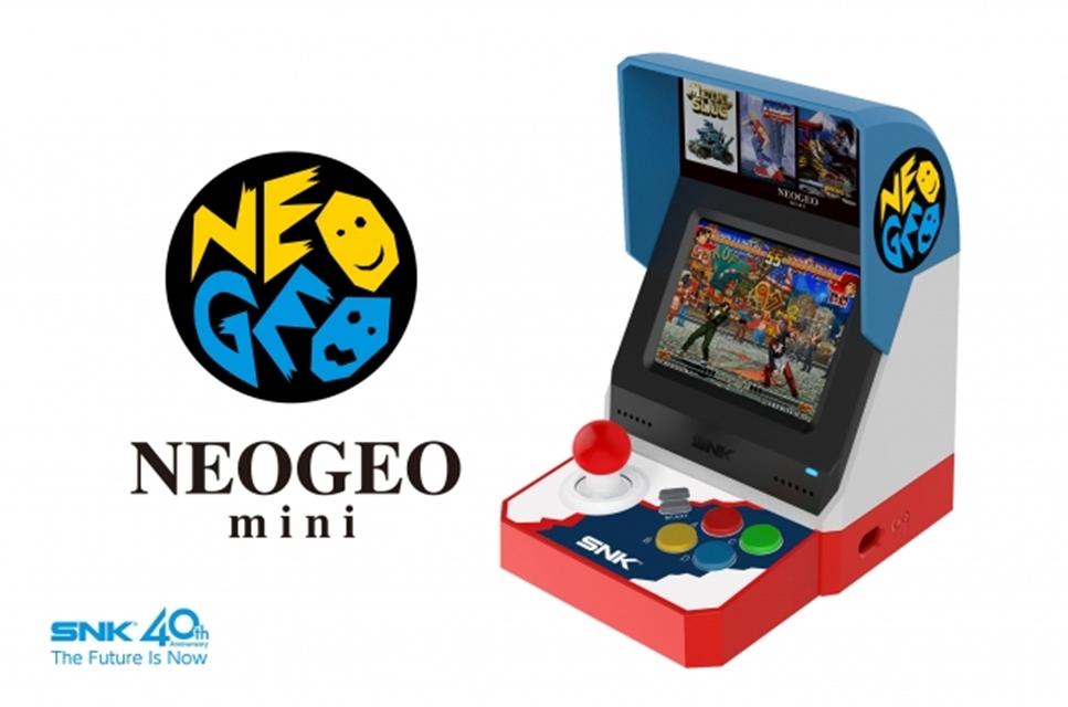 SNK revela oficialmente NEOGEO mini com 40 jogos; ele chegará ao Ocidente!
