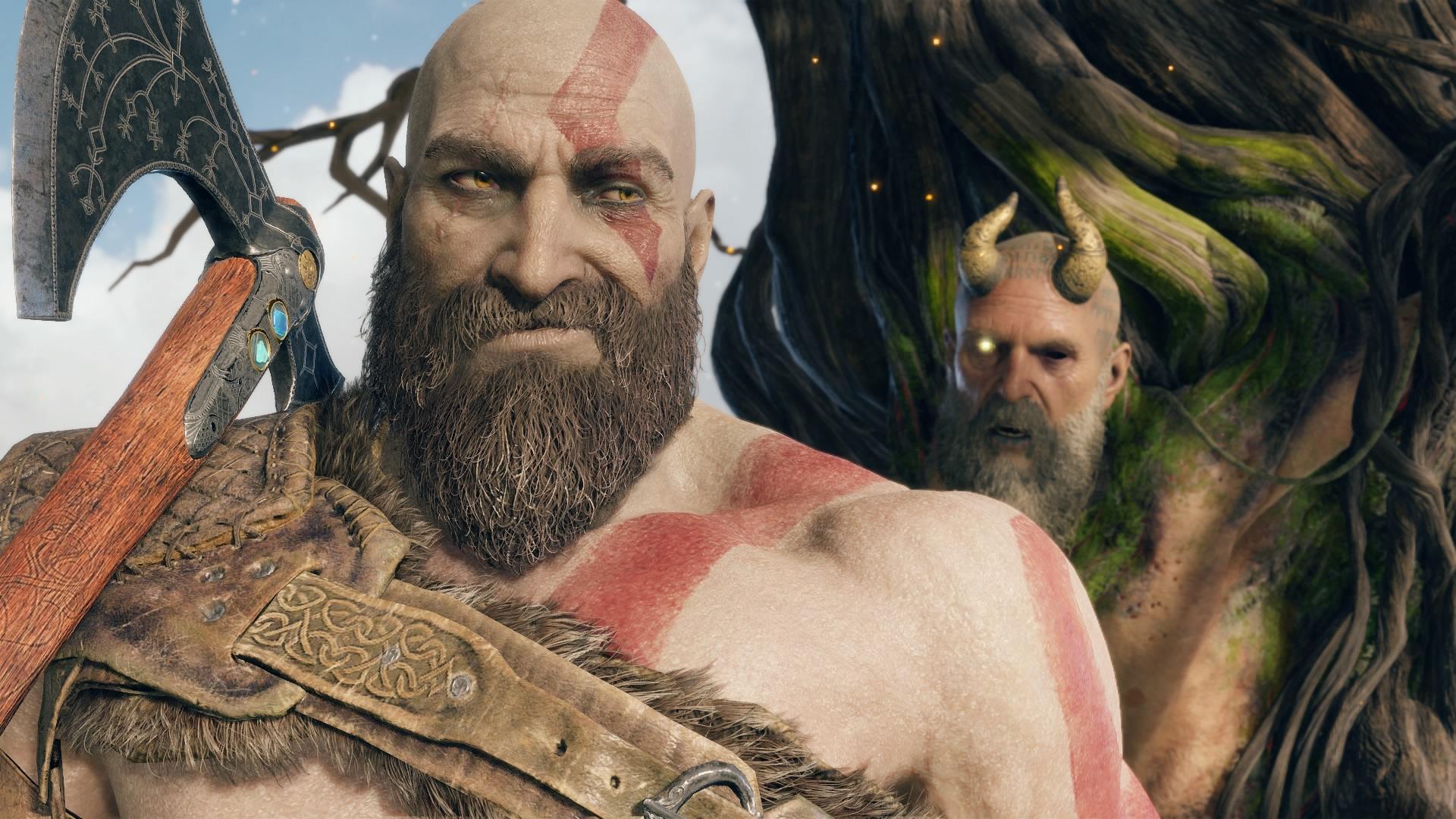 Modo fotografia de God of War chega hoje e traz caras e bocas para Kratos