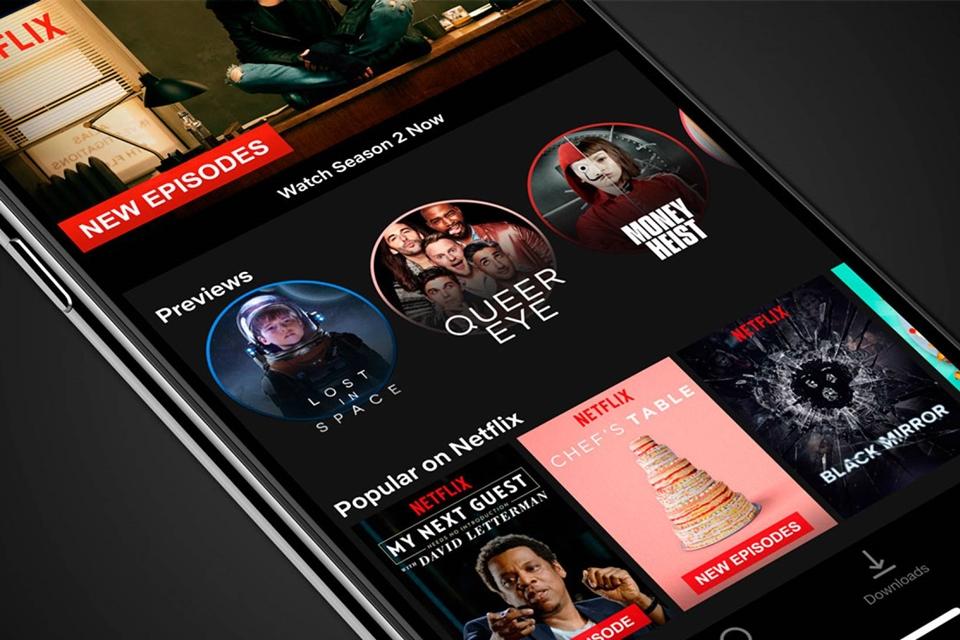 74c2d1d814 Prévias Netflix estilo Snapchat começam a chegar a usuários de Android