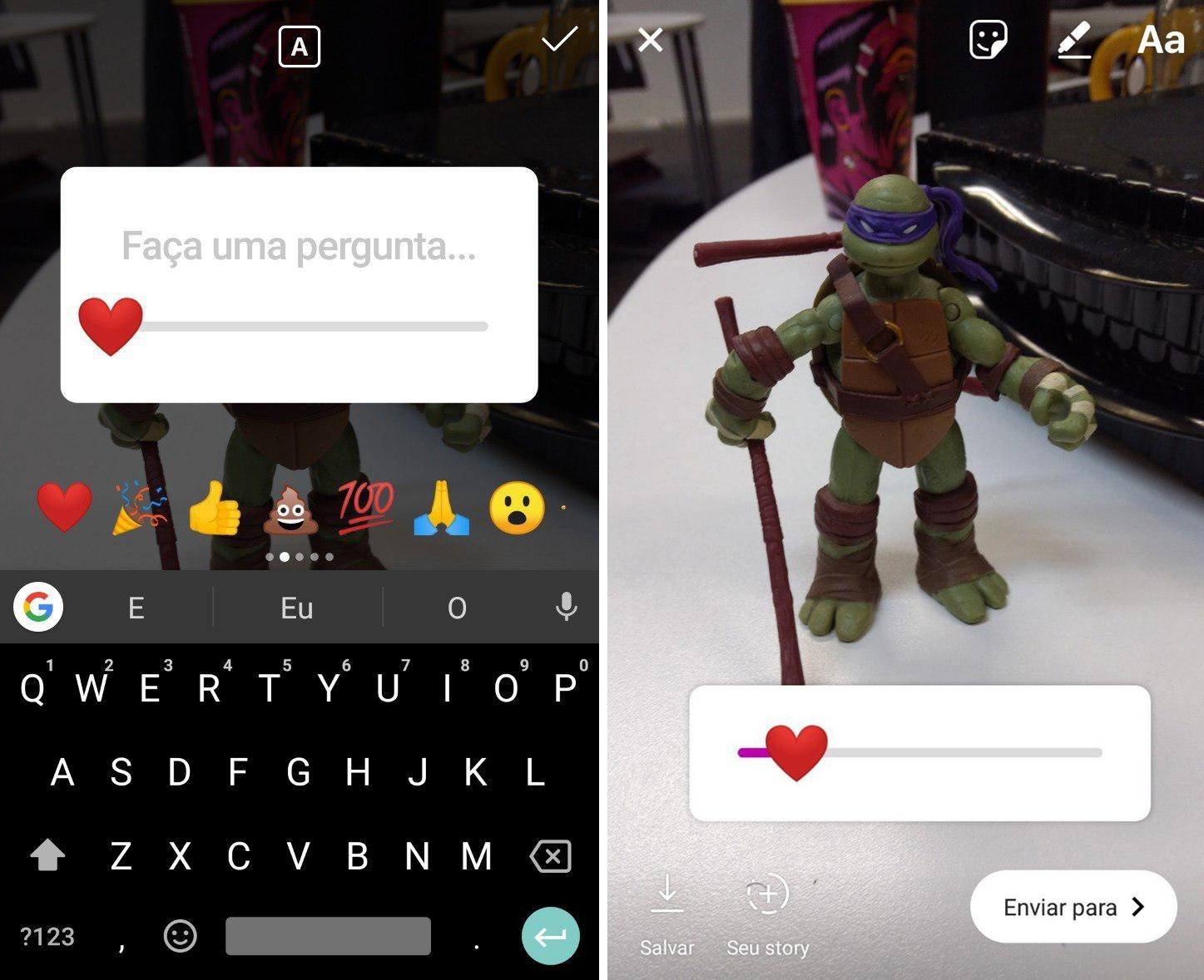 Instagram ganha ferramenta de enquete em forma de emoji
