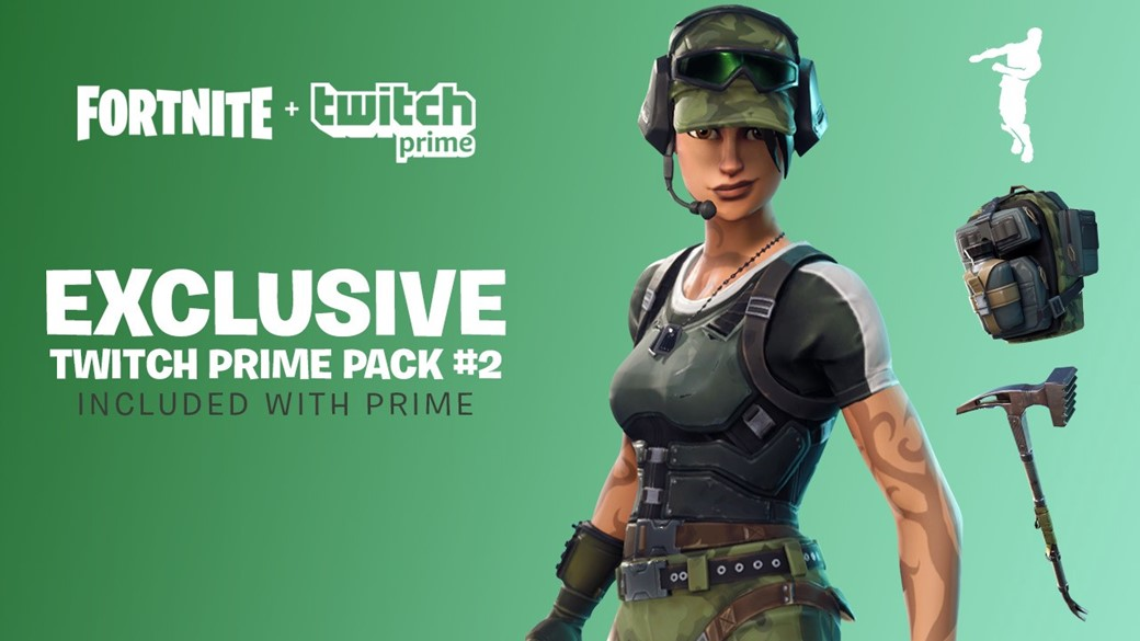 Fortnite twitch prime pack