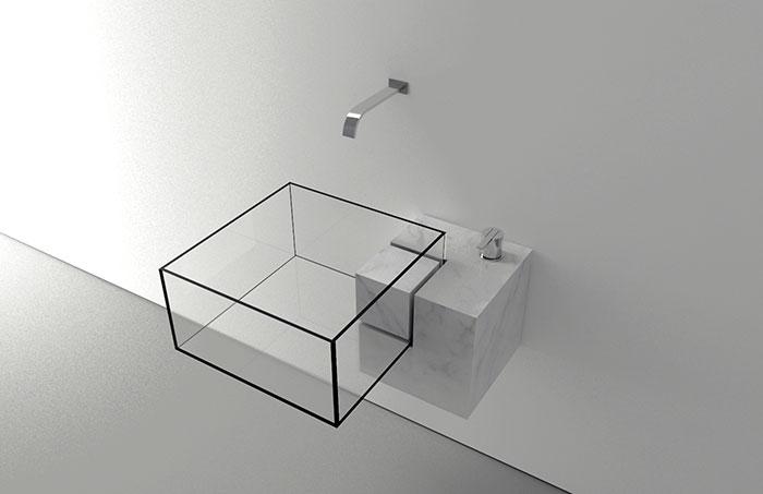 Pia minimalista