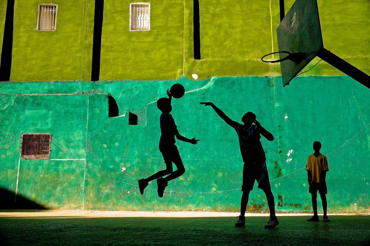 Basquete em Havana