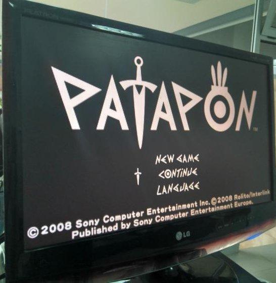 Patapon de PSP rodando no PS4