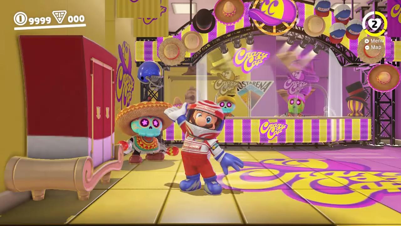 Super Mario Odyssey: dataminers descobrem cinco roupas não reveladas