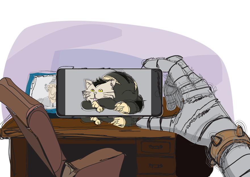 Dr. Garra no celular